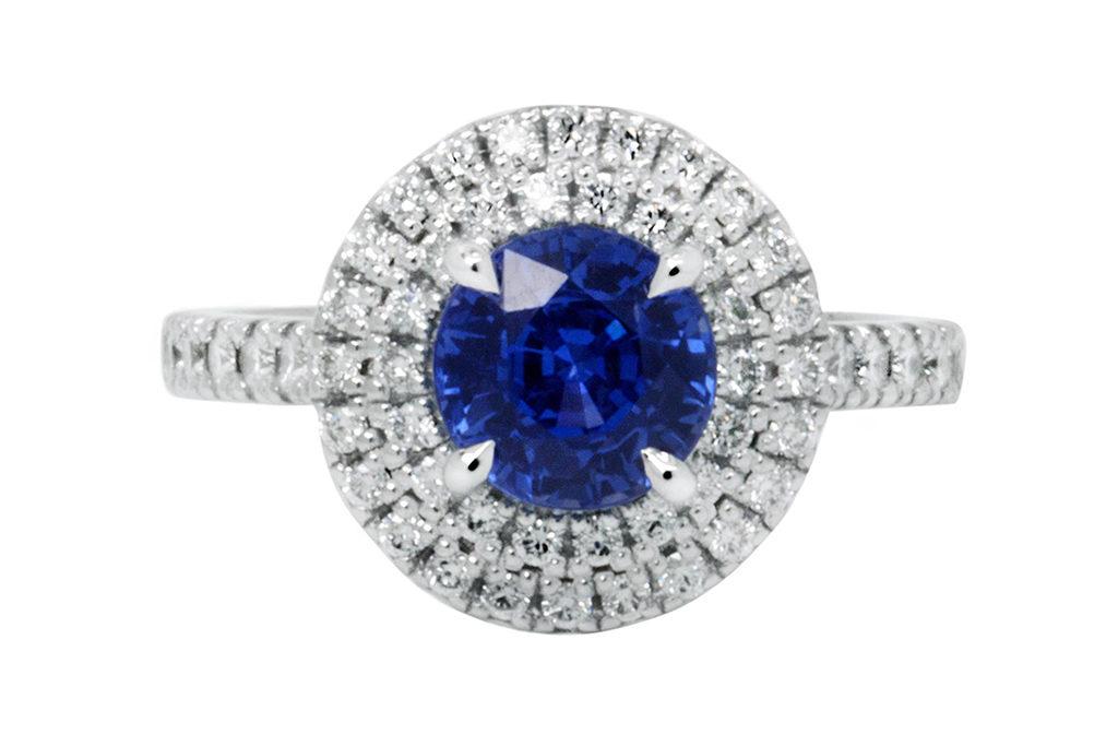 Blue Sapphire 4 Claw