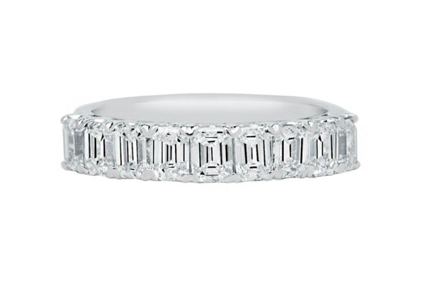 custom made diamond eternity ring