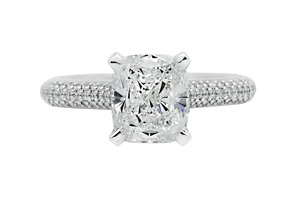 Platinum Cushion Cut Melb VIC 3000