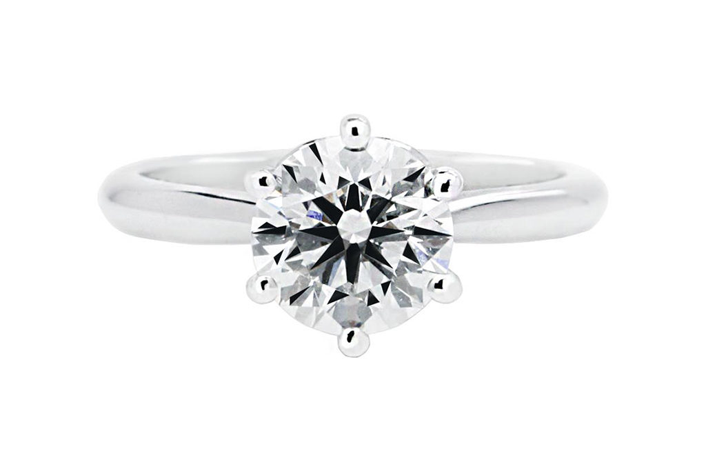Round Cut Diamond Centre
