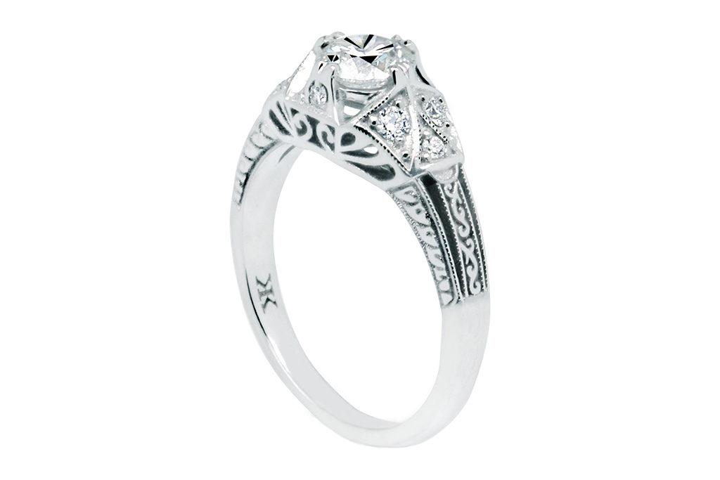 Vintage Engraved Ring