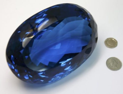A 9,380 Carat Blue Topaz to be Displayed in UK Museum