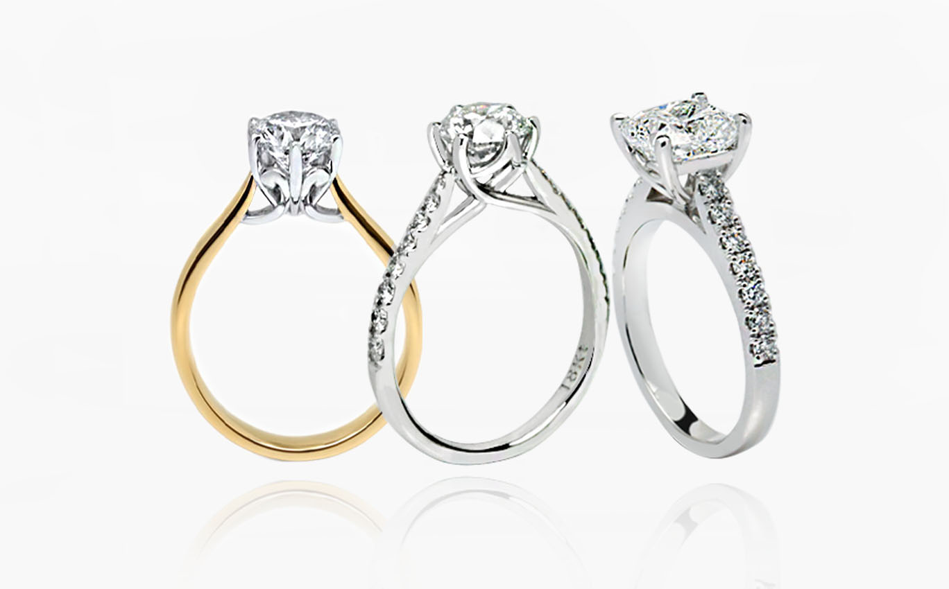 Engagement Rings by Kalfin Jewellery