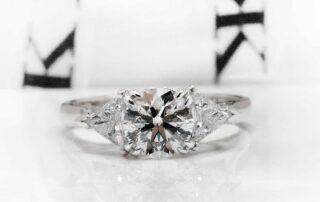 Diamond ring by Kalfin Jewellery