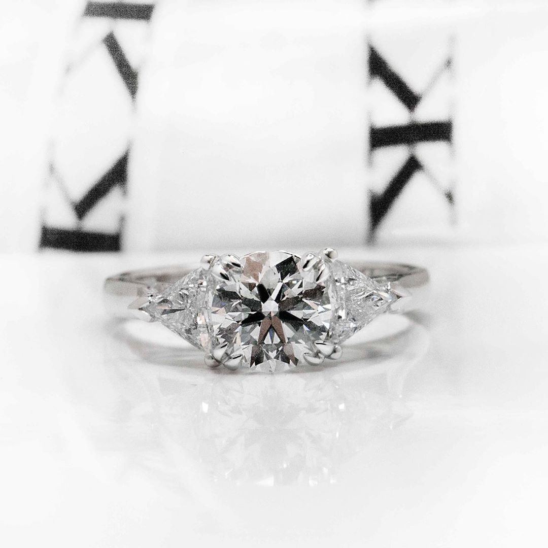 Diamond ring by Kalfin Jewellery