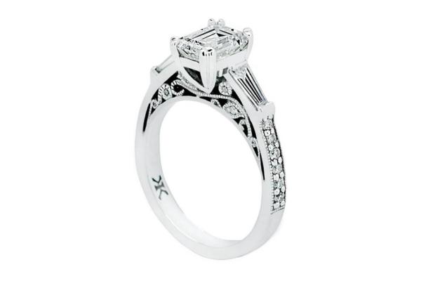 custom design engagement ring 1