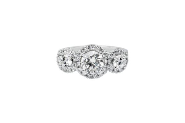 trilogy engagement ring 2