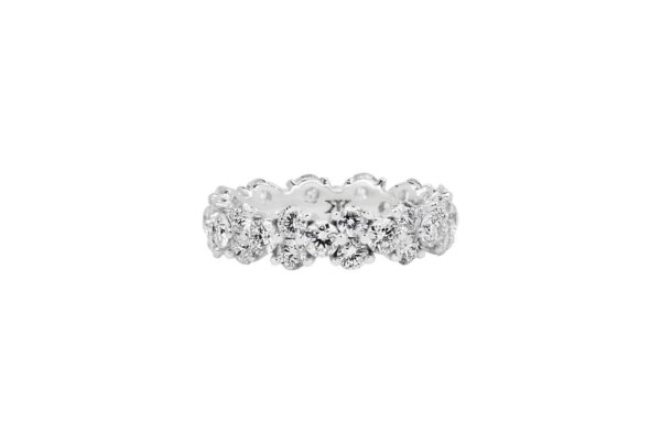 Eternity Diamond Ring By Kalfin Jewellery