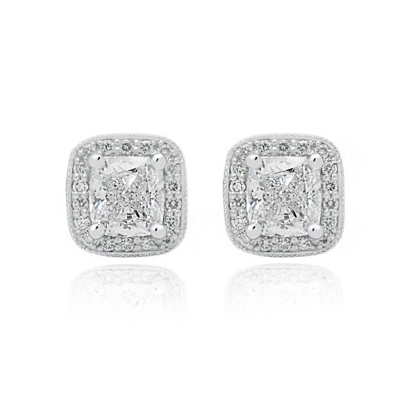 Avery diamond studs