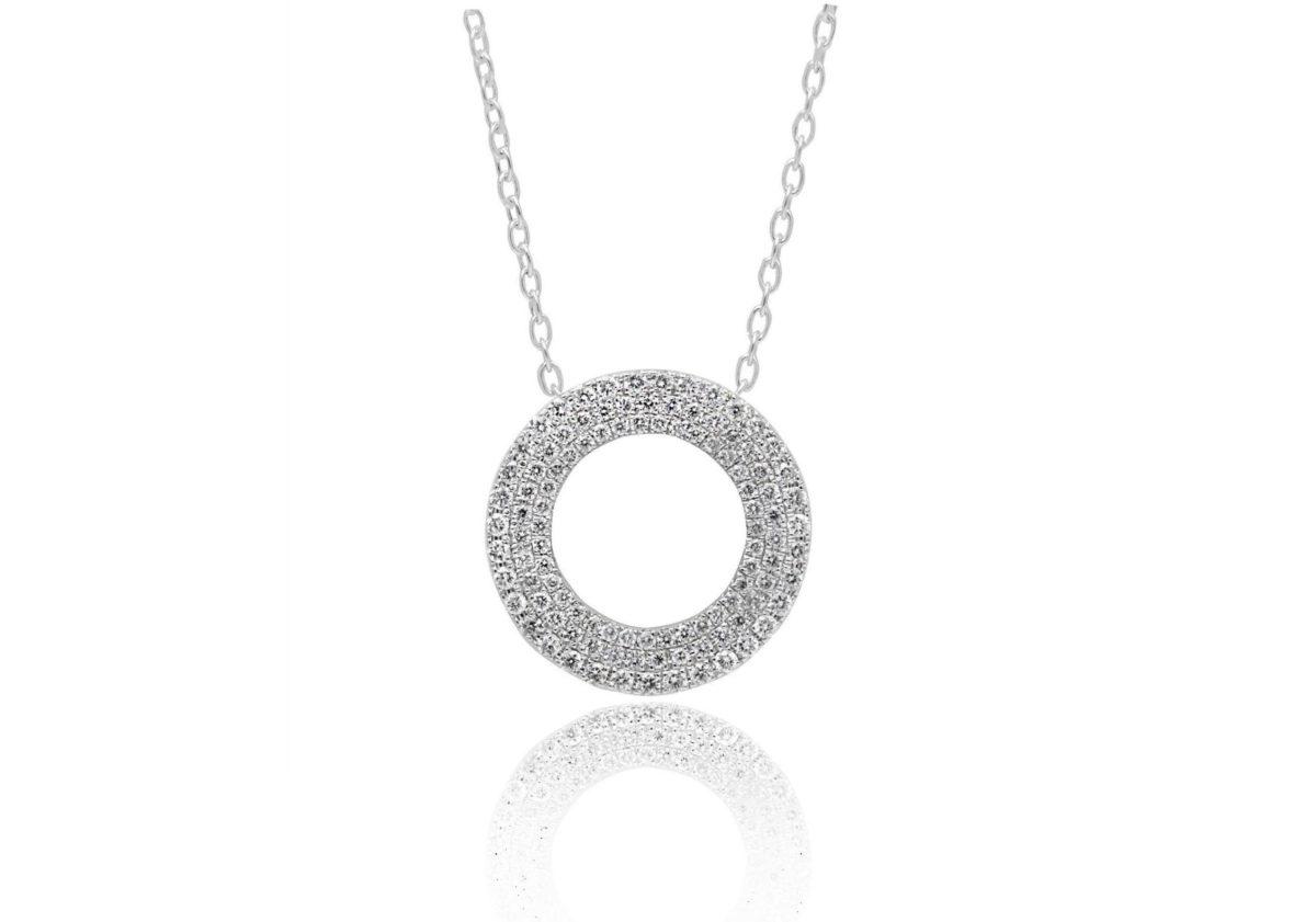 CIRA Diamond pendant necklace