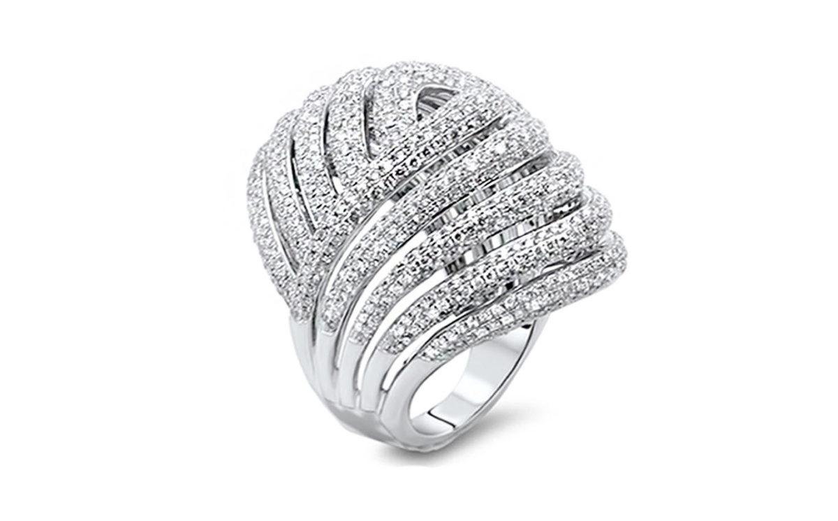 Marlee white gold dress ring