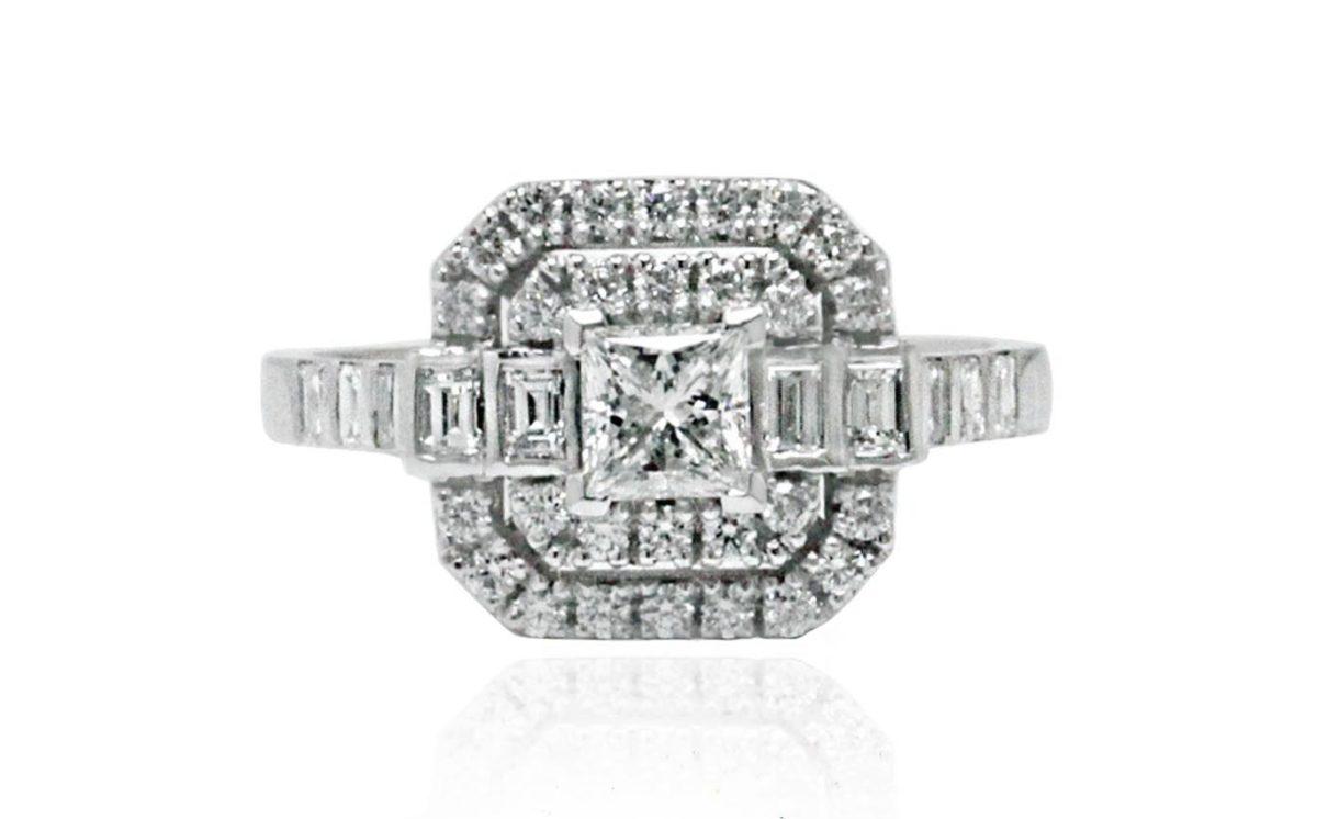 art diamond ring