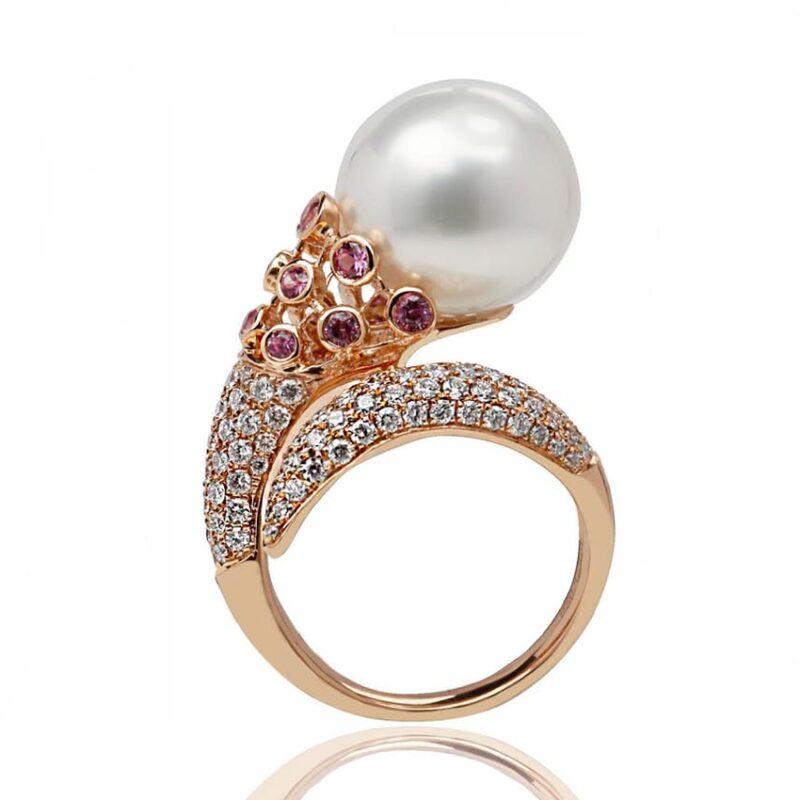 VIVIANA Dress Pearl Ring