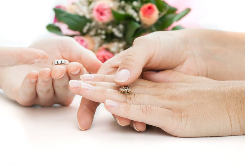 Choosing engagement rings before a proposal